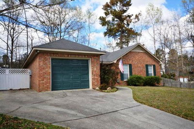 Evans Single Family Home For Sale: 4747 Rye Hill Court