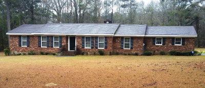 Warrenton GA Single Family Home For Sale: $92,500