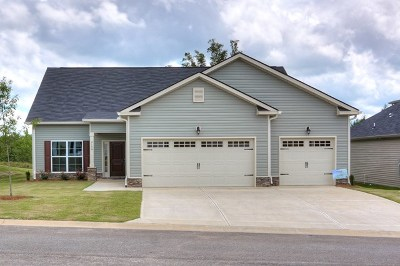 Grovetown Single Family Home For Sale: 2156 Grove Landing Way