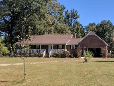 McDuffie County Single Family Home For Sale: 790 Ridge Road