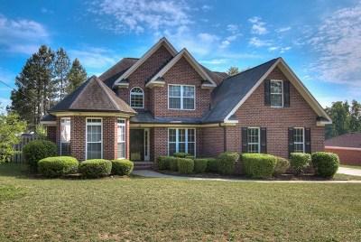 Hephzibah Single Family Home For Sale: 2862 Willis Foreman Road