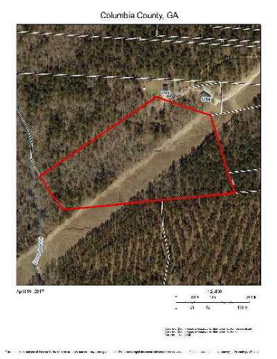 Appling Residential Lots & Land For Sale: 0-A Burns Road