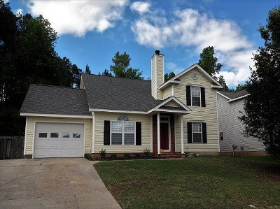 Evans Single Family Home For Sale: 5112 Saddle Circle