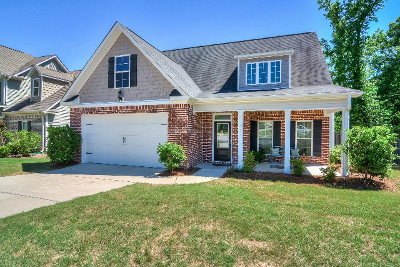 Grovetown Single Family Home For Sale: 1221 Stone Meadows Court