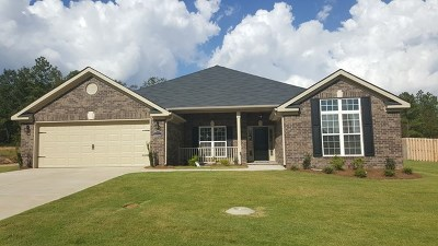 Hephzibah Single Family Home For Sale: 5004 Ted Tidwell Lane