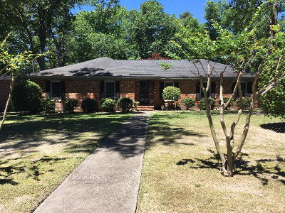 Augusta Single Family Home For Sale: 3419 Heather Drive