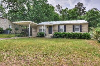 North Augusta Single Family Home For Sale: 1907 Gordon Street