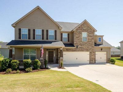 Grovetown Single Family Home For Sale: 705 Erika Lane
