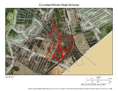 Grovetown Residential Lots & Land For Sale: 5143 Parham Road