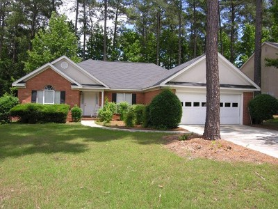 Evans Single Family Home For Sale: 1045 Waltons Pass
