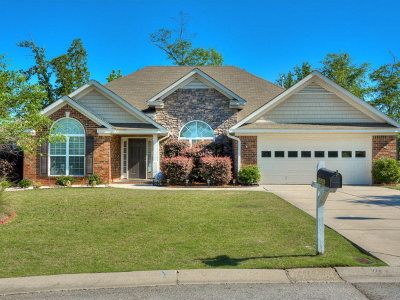 Grovetown Single Family Home For Sale: 1680 Cedar Hill Drive