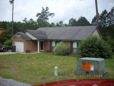 Hephzibah Single Family Home For Sale: 3511 Snowden Drive