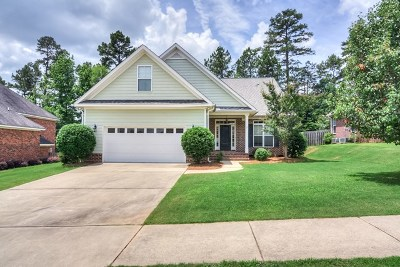 Evans Single Family Home For Sale: 930 Woody Hill Circle