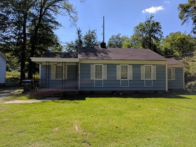 Augusta GA Single Family Home For Sale: $89,888