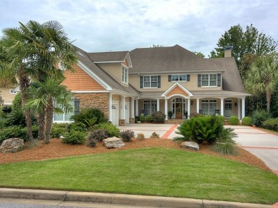 North Augusta Single Family Home For Sale: 139 Savannah Pointe