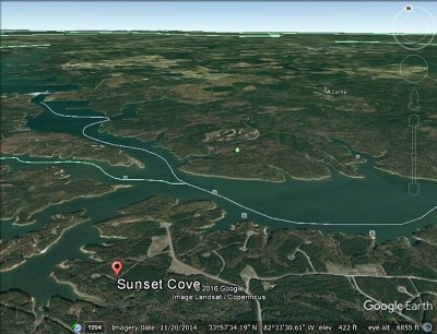 McDuffie County Residential Lots & Land For Sale: 1248 Sunset Cove