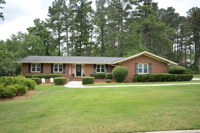 Augusta Single Family Home For Sale: 3542 Carnoustie Drive
