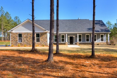 Appling Single Family Home For Sale: 2100 Marks Road