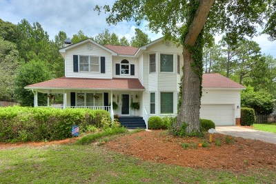 Aiken Single Family Home For Sale: 1210 Willow Woods Drive