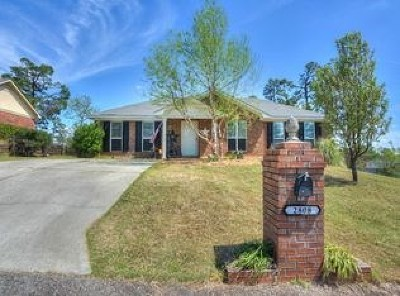 Hephzibah Single Family Home For Sale: 2808 Crosscreek Road