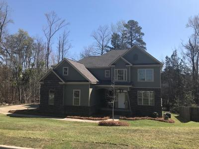 North Augusta Single Family Home For Sale: 216 Bridle Path Road