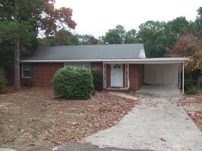 Augusta Single Family Home For Sale: 1614 Winter Street