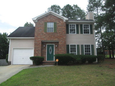 Evans Single Family Home For Sale: 665 Steeplechase Way