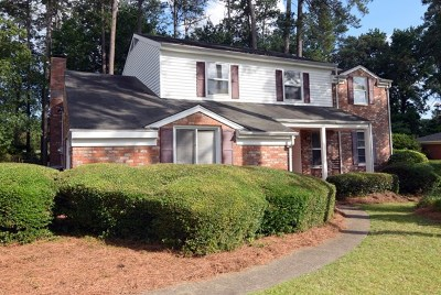 Augusta Single Family Home For Sale: 3424 Heather Drive