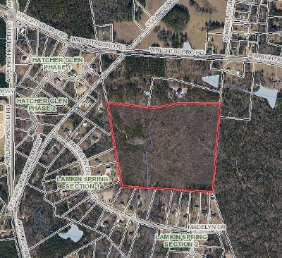 Residential Lots & Land For Sale: Wrightsboro Road
