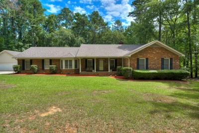 Evans Single Family Home For Sale: 1028 Cumberland Drive
