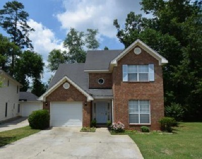 Augusta Single Family Home For Sale: 2545 Carriage Creek
