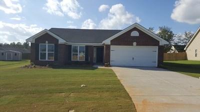 Richmond County Single Family Home For Sale: 2729 Ashton Drive