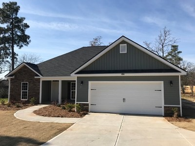Edgefield County Single Family Home For Sale: 896 West Five Notch Road