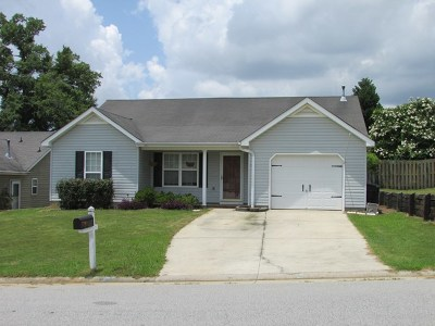 Grovetown Single Family Home For Sale: 530 Wendover Way
