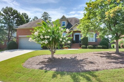 Evans Single Family Home For Sale: 249 Newland Circle