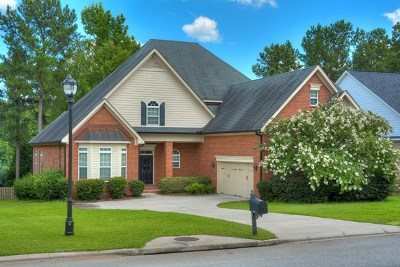 Evans GA Single Family Home For Sale: $384,000