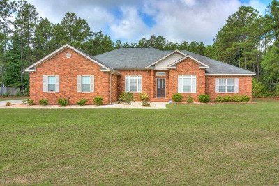 Hephzibah Single Family Home For Sale: 3028 Old Lodge Road