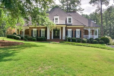 Evans Single Family Home For Sale: 4350 Deerwood Lane