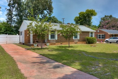 Aiken Single Family Home For Sale: 784 Henry Street