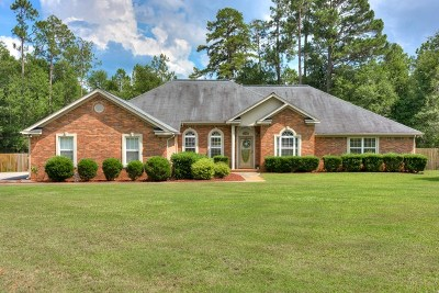Hephzibah Single Family Home For Sale: 2508 Atkins Lane