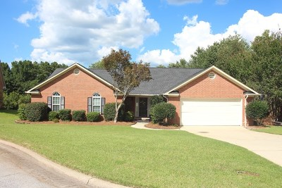 Augusta Single Family Home For Sale: 4615 Sheffield Drive