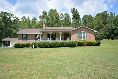 McDuffie County Single Family Home For Sale: 570 Ravenwood Drive