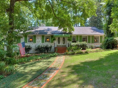 Augusta Single Family Home For Sale: 724 Oberlin Road