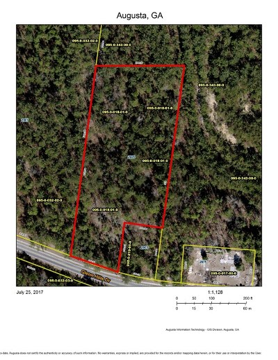 Augusta Residential Lots & Land For Sale: 2905 Glenn Hills Drive
