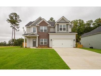Evans Single Family Home For Sale: 789 Houston Lake Drive