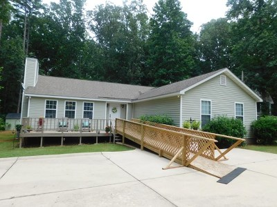 Lincolnton Single Family Home For Sale: 1250 Wells Creek Drive