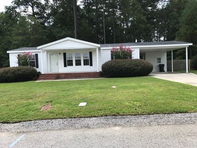 Richmond County Manufactured Home For Sale: 2537 Waterfront Drive