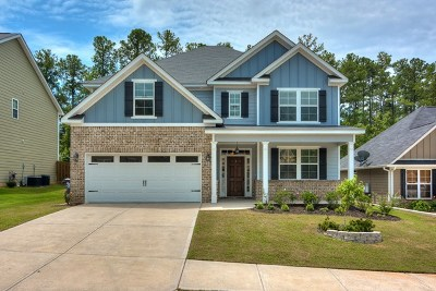 Grovetown GA Single Family Home For Sale: $227,500