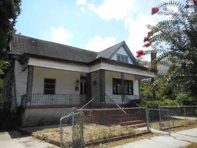 Augusta GA Single Family Home For Sale: $20,000