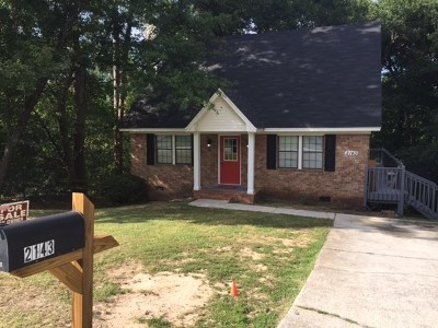 Richmond County Single Family Home For Sale: 2143 Pepperidge Drive